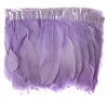 Goose Feather Strung 5.5-7in Value 65g 2Yards Lilac